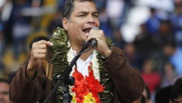 The President of Ecuador Rafael Correa, Reuters
