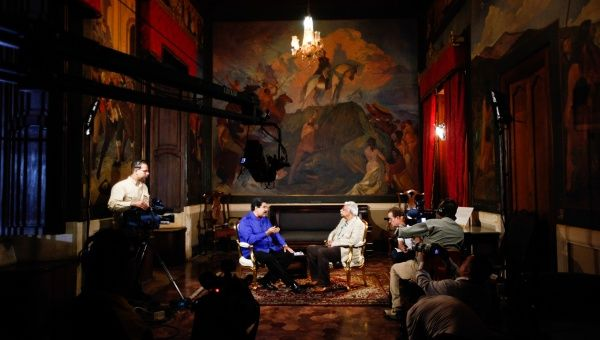 Tariq Ali Interviews Nicolas Maduro on the Launch of ...