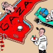 Franja de Gaza: Un baño de sangre