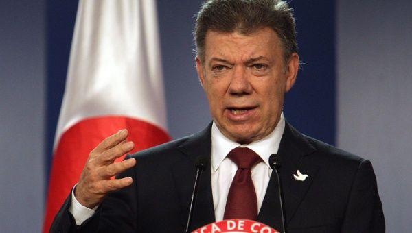 Santos arremete contra las FARC y el ELN. (EFE)