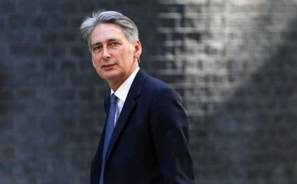 The Foreign Affairs british Minister Philip Hammond.