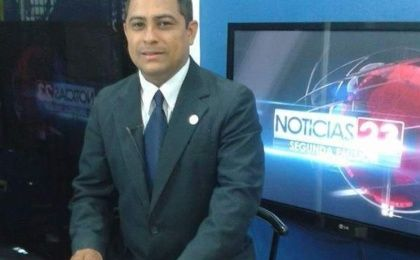 Nery Soto, news anchor for Channel 23, the seventh Hondurean journalist murdered in 2014.