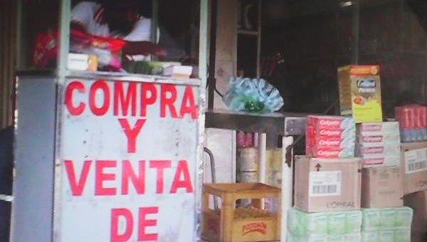 Así venden los productos venezolanos en Cúcuta, Colombia