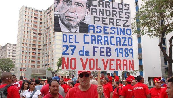 Venezolanos rechazan volver al sistema neoliberal que produjo el estallido poppular de 1989 (Foto: Archivo)