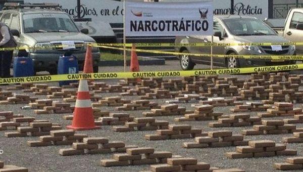Ecuador desarticula red internacional de narcotráfico