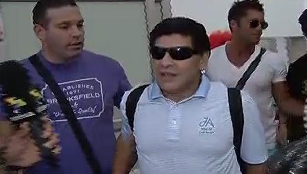 0e6429d47 Diego Armando Maradona, junto a Víctor Hugo Morales, serán los  presentadores especiales de teleSUR
