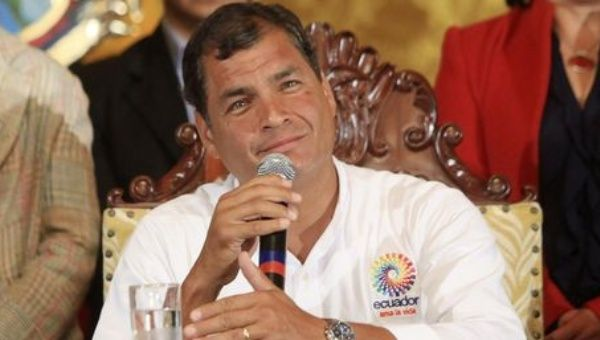 The U.S. was not happy with President Rafael Correa