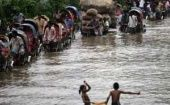 Bangladesh suffers more heavy flood, affecting millions. (Photo: Reuters)
