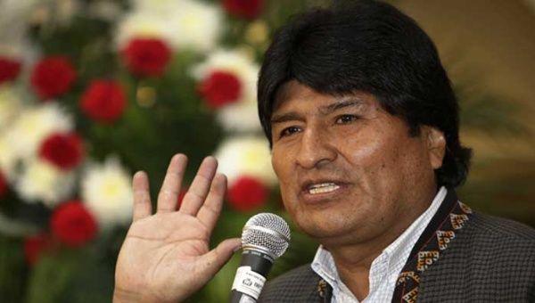 Chile Bolivia Hague Bolivia's Morales Filed Hague