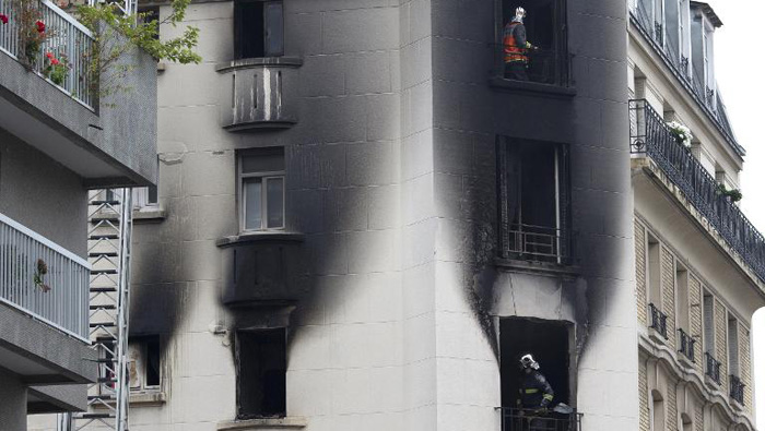 Se presume que el incendio se ocasionó por causas accidentales. (Foto: AFP)