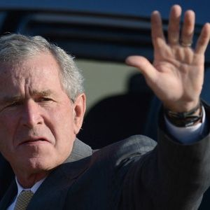 George Bush como animadora