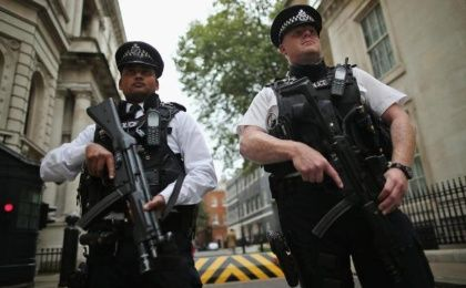 British Home Secretary Theresa May announced that the UK's terror threat level is being raised from 'substantial' to 'severe. (Photo: Reuters)
