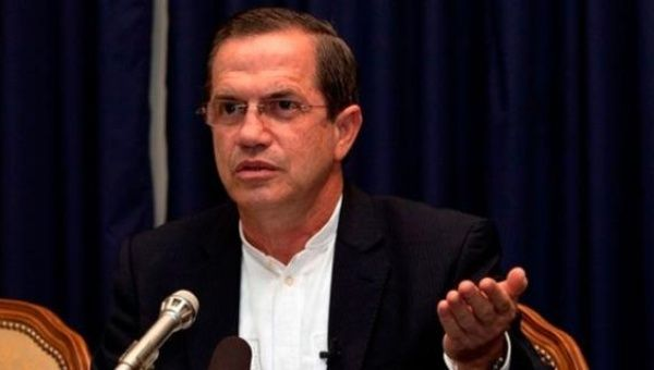 Ecuadoran Minister of Foreign Affairs Ricardo Patiño. (Photo: teleSUR)
