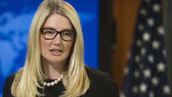 U.S. State Department Deputy Spokesperson Marie Harf. (Photo: AFP)