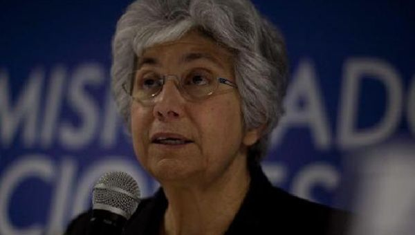 Flavia Pansieri, UN Adviser of the High Commission of Human Rights expressed her concerns about the situation of human rights in Guatemala last year. (Photo: EFE/Archive)