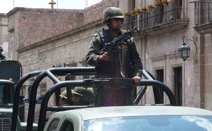 Dozens of civilians have been killed during clashes between soldiers and criminals. (Photo: Juan Silva)
