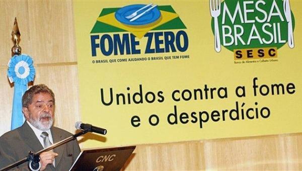 Brazil and Bolivia promote food security initiatives (Photo: Telesur)