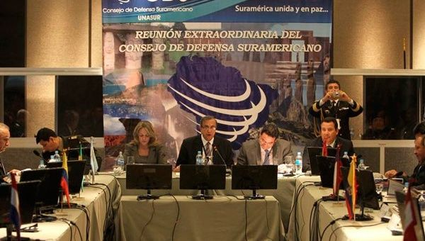 UNASUR Defense Council proposes a new natural disaster emergency response protocol (Photo: Telesur)