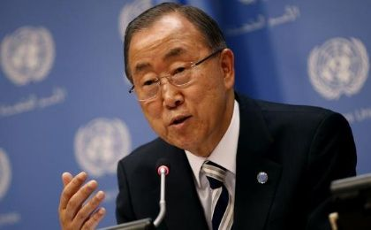United Nations Secretary General Ban Ki-moon speaks at a news conference ahead of the 69th United Nations General Assembly at U.N. headquarters in New York, September 16, 2014. (Photo: Reuters)