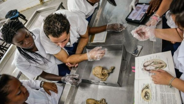 The Latin American School of Medicine in Havana is one of the world's most advanced medical schools (Source: Reuters)