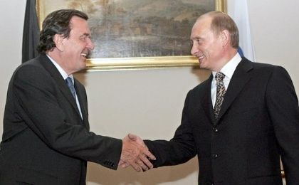 Former German chancellor Gerhard Schroeder once remarked that he believed Russian president Vladmir Putin was a