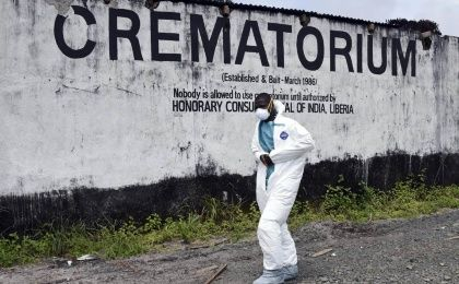 Of the four west African nations affected by the Ebola outbreak, Liberia has been hit the hardest, with 3,458 people infected and of those, 1,830 have died. (Photo: AFP)