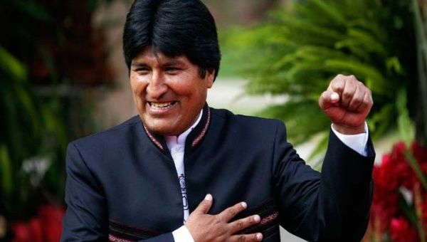 President of the Plurinational State of Bolivia, Evo Morales (Photo: Reuters)