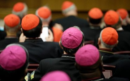 Two hundreds bishops gather in Rome to attend the Family synod convened by Pope Francis. (Photo: Reuters/Max Rossi)
