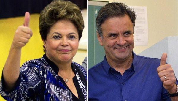 Dilma y Aécio presentan dos modelos antagónicos y los brasileños deberán elegir uno de ellos. (Foto: Archivo)
