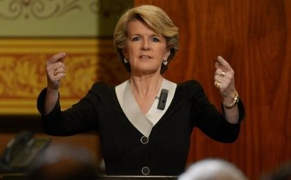 Australian Foreign Minister, Julie Bishop says Putin agreed to full cooperation around MH17 investigation. (Photo: AFP)