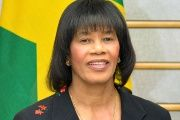 Jamaican Prime Minister Portia Simpson Miller (Photo: AFP).