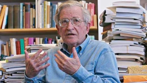 Philosopher Noam Chomsky is professor of the  MIT Institute of Linguistics (Emeritus). (Photo: teleSUR/file)