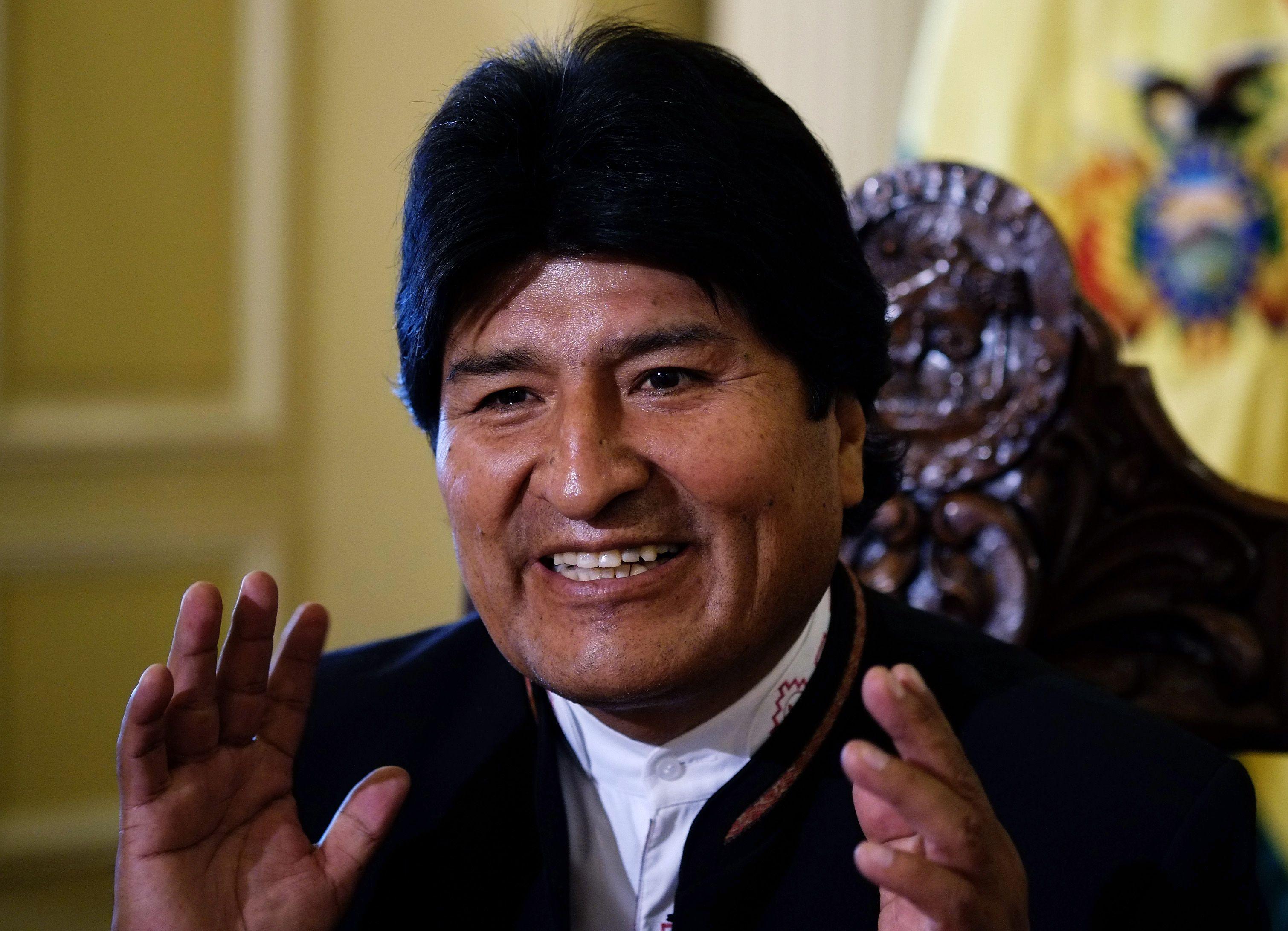 Evo Morales Bolivien Bolivia Revolution Sozialismus T-Shirt alle Größen NEU