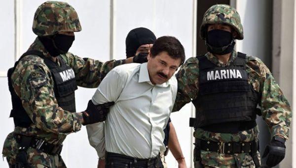 Chapo guzman who was captured in february photo reuters photo