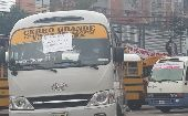 Public transportation goes on strike in Honduras becuase of insecurity that has caused the assasination this year of more than 100 drivers.