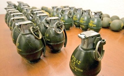 A U.S. Department of Justice report revealed that ATF agents marked grenade parts before arms trafficker Jean Baptiste Kingery  exported to Mexico for sale to drug traffickers. (Photo: Notimex/Archive)