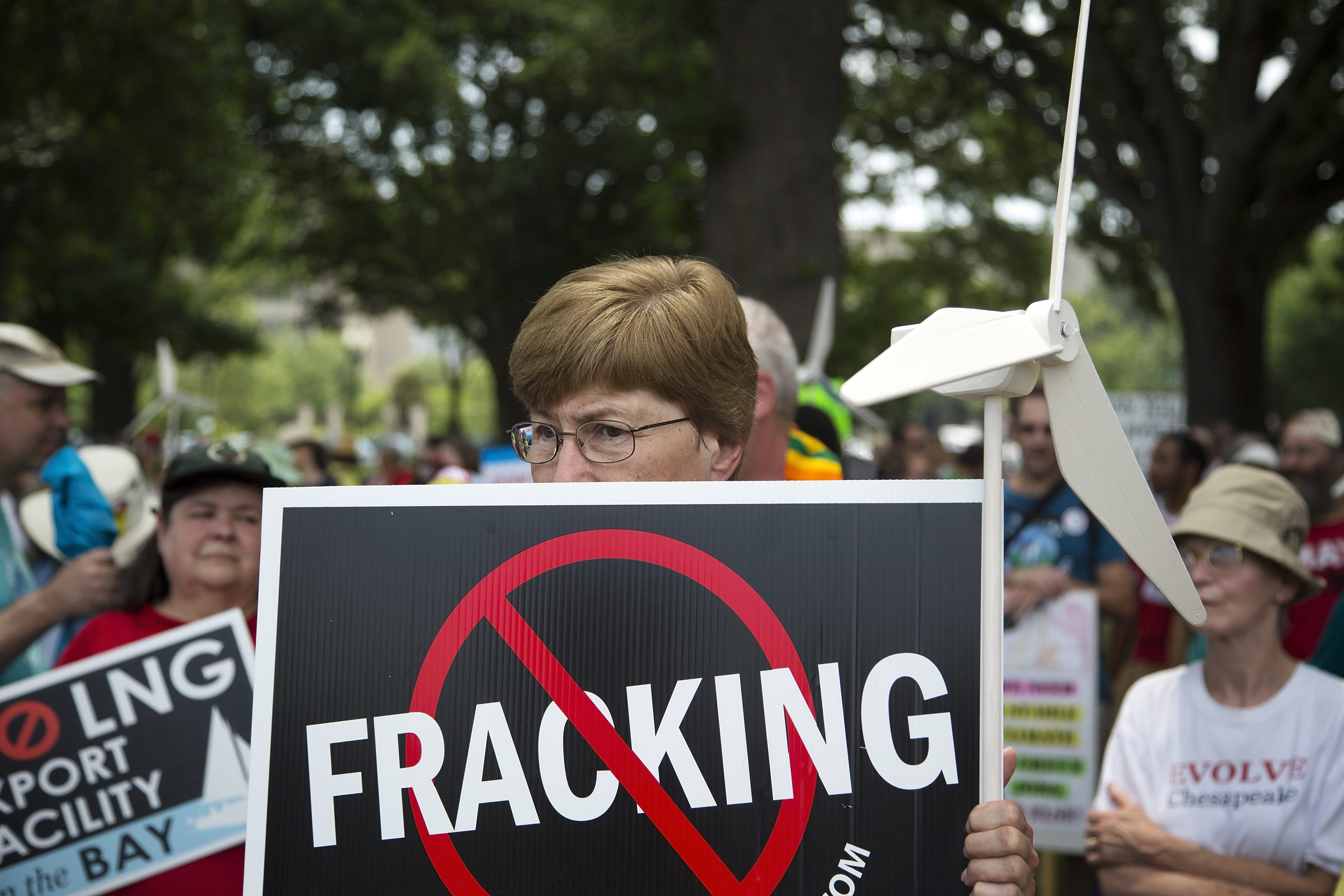 Activistas anti-fracking (Reuters)