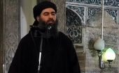 Islamic State leader Abu Bakr al-Baghdadi preaching during Friday prayer at a mosque in Mosul. (Photo: Reuters)