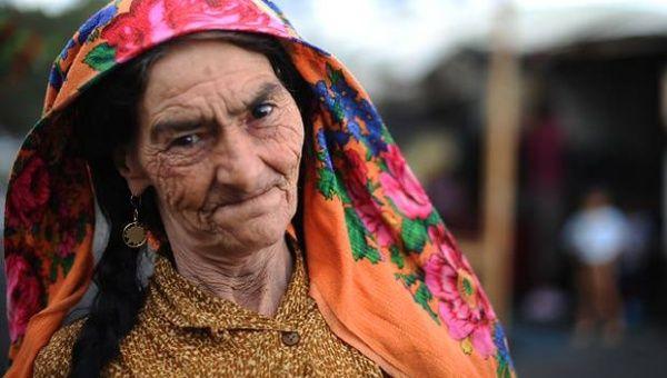 A Roma woman (Photo: AFP)