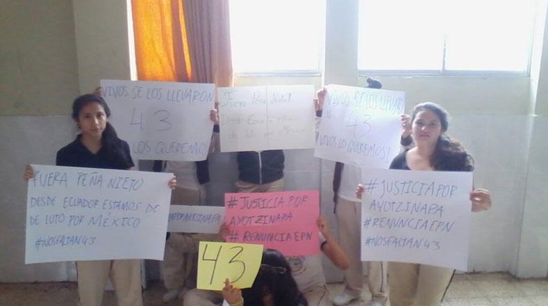 Sus mensajes en pancartas, reiteran al Estado hacer justicia