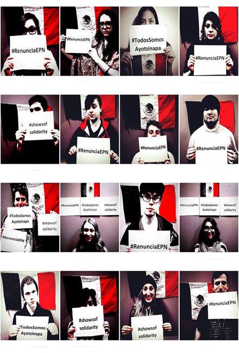 México no se rinde, grita que se cansó de la violencia y demanda justicia para Ayotzinapa