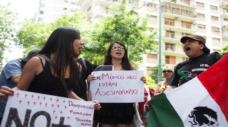 Argentina demanda justicia para los 43 normalistas