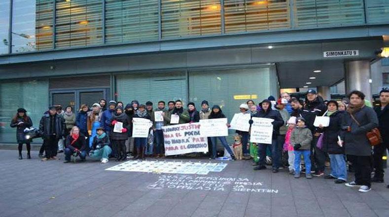 Finlandia se suma a la lucha por justicia para Ayotzinapa