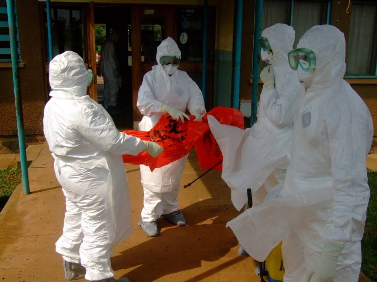Latest cases of Ebola are confimed in the Democratic Republic of Congo (Photo: AFP)
