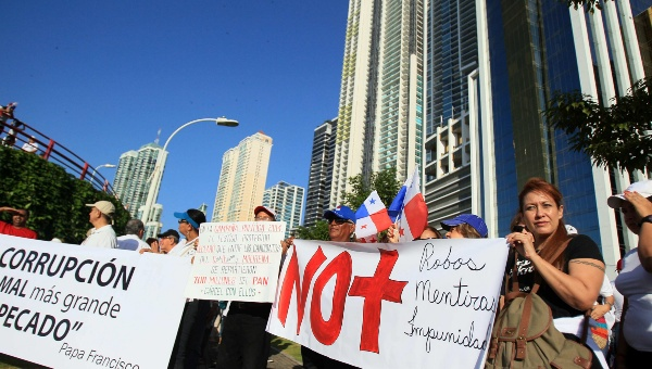 """Los manifestantes dijeron """"no a la impunidad"""". (Foto: EFE)"""