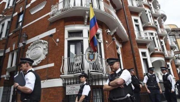 Julian Assange has been trapped in the embassy since 2012. (Photo: Reuters)