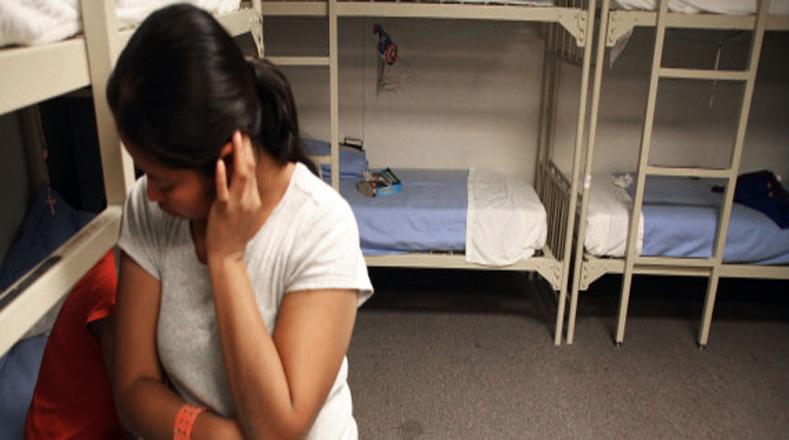La espera para estas personas detenida para ser deportadas puede ser de meses.