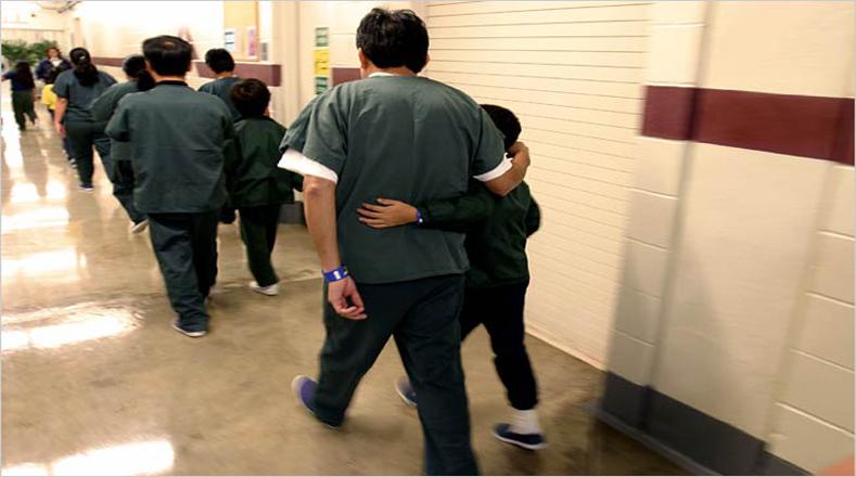 Don Hutto pertenece a la Corrections Corporation of America, que maneja el gran negocio de las cárceles privadas en Estados Unidos.
