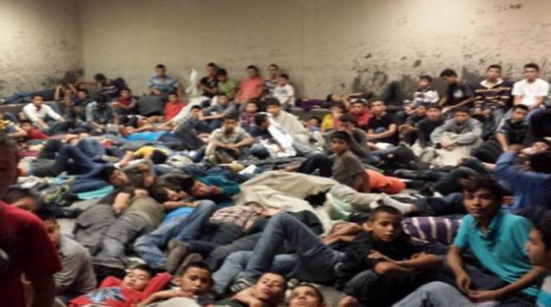 En el centro fronterizo del Valle de Rio Grande, al sur de Texas, decenas de niños y jóvenes son condenados al hacinamiento.