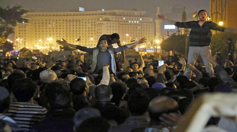 Hosni Mubarak fue acusado del asesinato de más de 800 personas en choques con la Policía durante los 18 días de protestas populares en 2011.